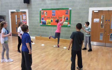 Year 6 Handball Introduction