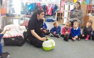 Zoolab visits Nursery