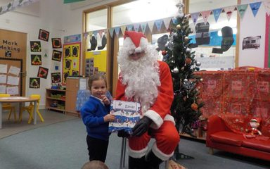 A special visitor comes to Nursery