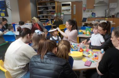 Reception's Eggtastic Parent Morning!