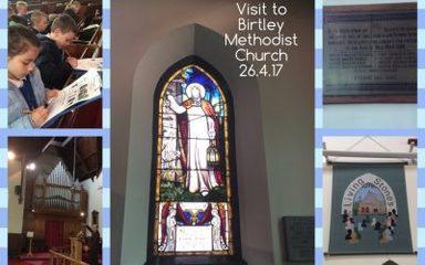 Visit to Birtley Methodist Church