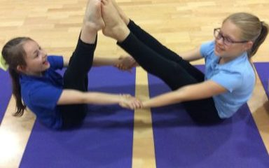 Year 5 Love Yoga!