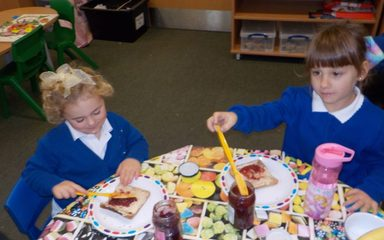 Reception's Toast Morning.