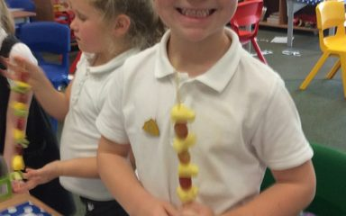 Designing and Making Fruit Kebabs