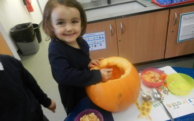 Pumpkin Soup!