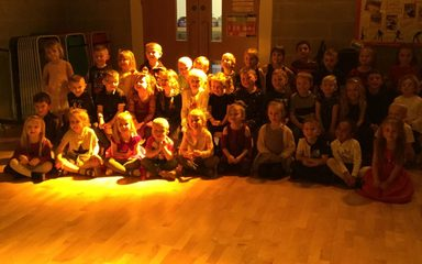 Reception and Year One's Christmas Party!
