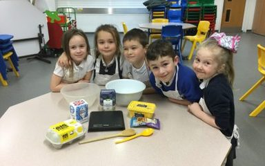 Year 1 Cookery Club