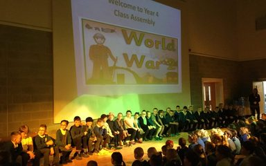 A Wonderful World War II Assembly