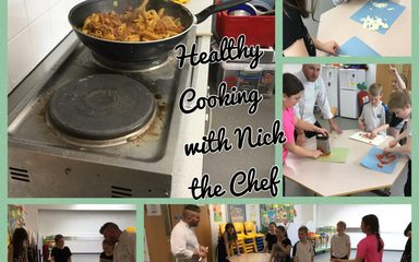 Healthy cooking in Year 5