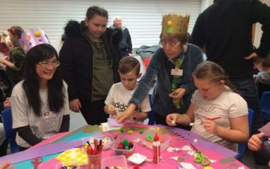 Our First Ever Messy Church