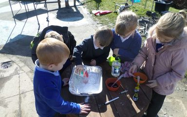 Science Week in Reception.