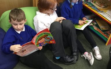 Reading Practise with Year 6