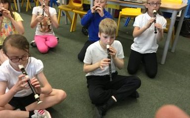 Music by Year 5