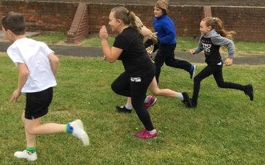 Mini Olympics in Year 4.