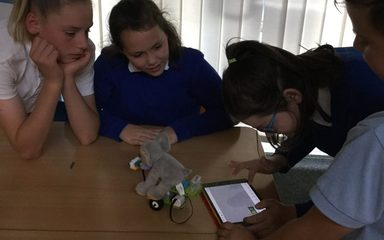 Building and Coding with Robots