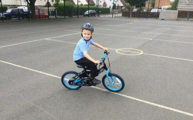 I can ride a bike!