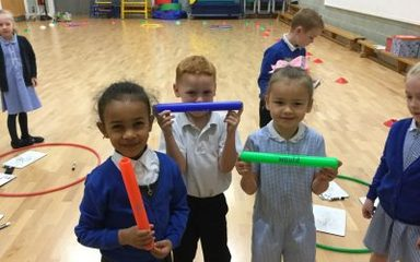 Phonics Relay Race