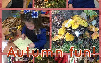 Autumn Week in Nursery