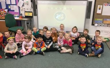 Nursery does Children in Need!