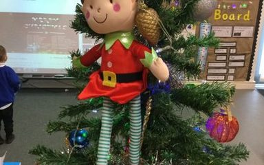 Buddy the Elf visits Nursery