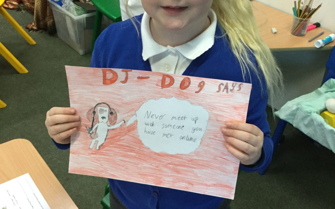 Internet Safety Week in Year 3