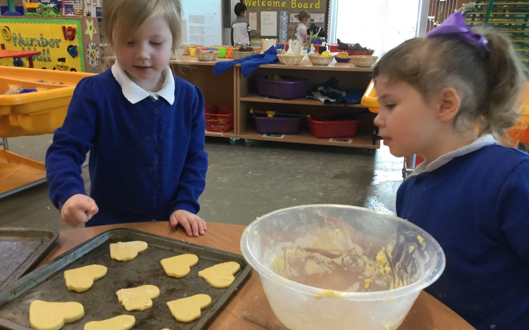 Nursery LOVE baking!