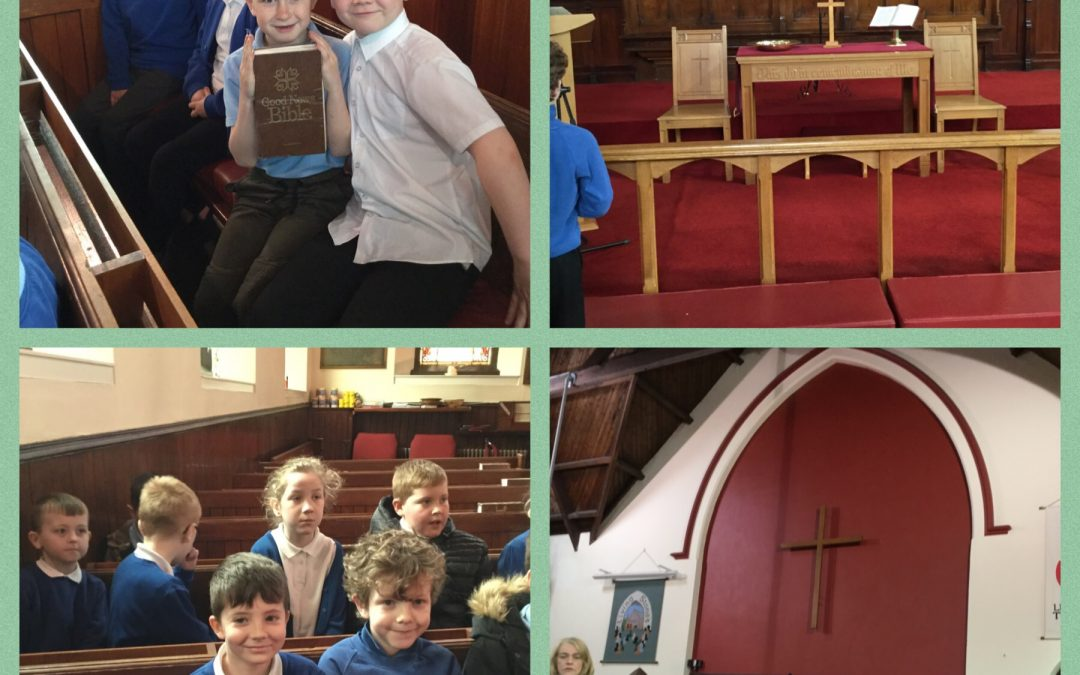 Y3 Visit Birtley Methodist Church