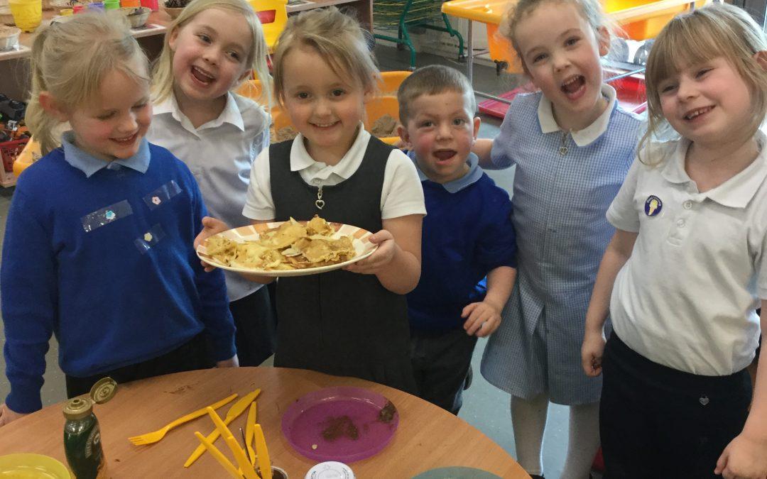 Mr Wolf's Pancakes!
