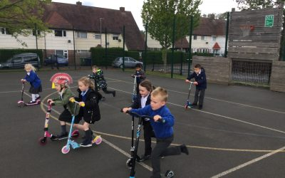 Scooter Success in Reception