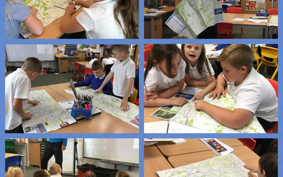 Map Reading with Year 3
