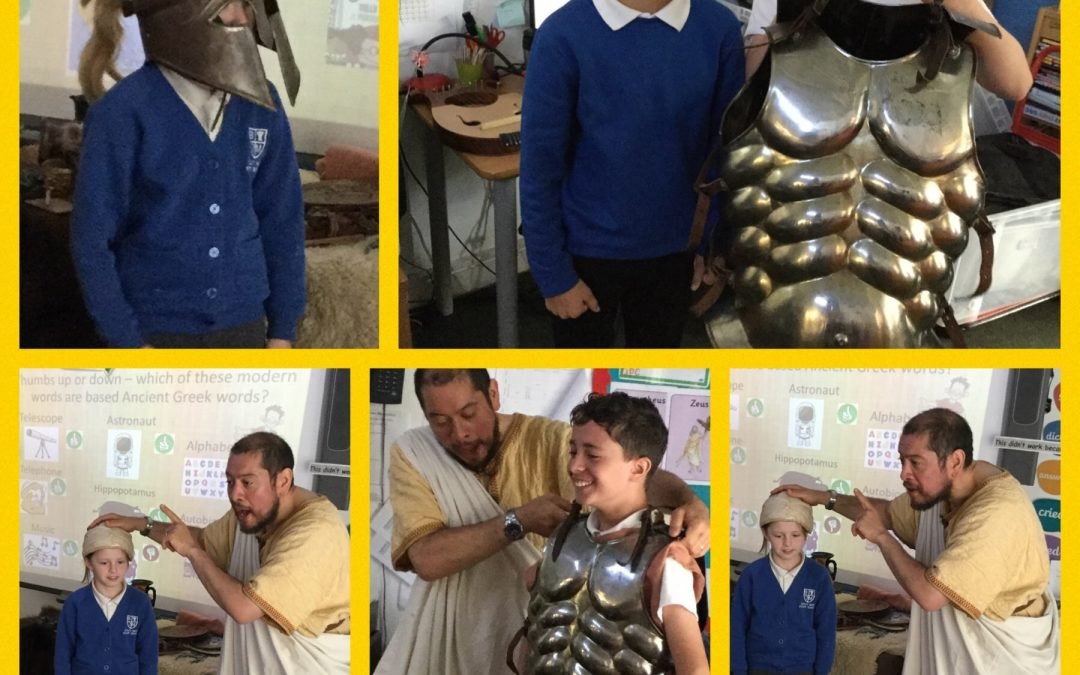 That History Bloke Visits Year 5