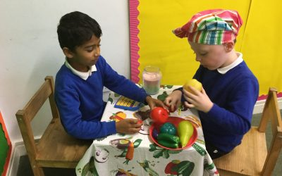 Year 1's Healthy Cafe