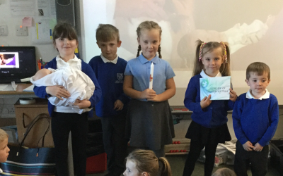 Baptism in Year 1!